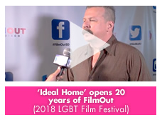 'Ideal Home' opens 20 years of FilmOut