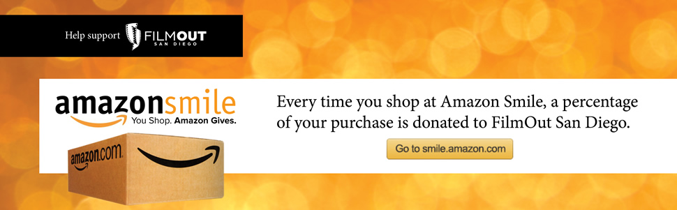 Support FilmOut by shopping Amazon Smiles!