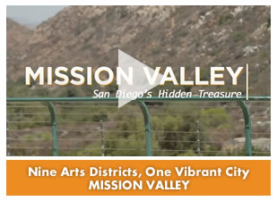 Nine Arts Districts, One Vibrant City: Mission Valley